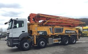Putzmeister M42-5 on chassis MERCEDES-BENZ Axor 4140