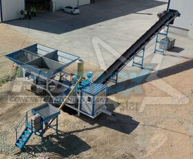 New PROMAX Mobile Concrete Batching Plant M35-PLNT (35m3/h)