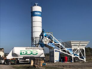 New PROMAX Mobile Concrete Batching Plant M60-SNG (60m3/h)