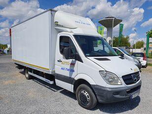 MERCEDES-BENZ SPRINTER 515 KONTENER 5m + WINDA  3,5 T KLIMA box truck < 3.5t