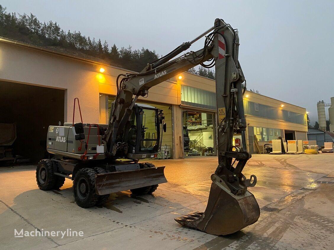 ATLAS W 140 wheel excavator