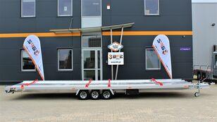 new BFZ BFZ-35/83  für 2 Fahrzuege Aluminium  car transporter trailer
