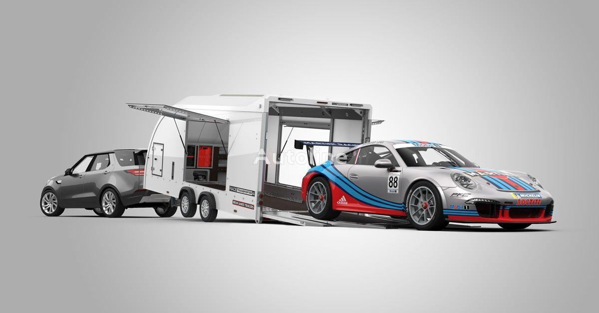 new Brian James Race Transporter 4 car transporter trailer