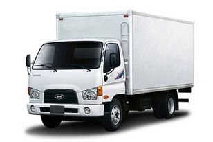 new HYUNDAI HD78 промтоварный фургон box truck