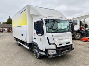 damaged RENAULT D-CAB 180 box truck