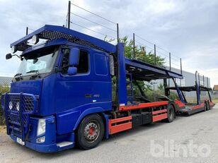 VOLVO FH 460 car transporter