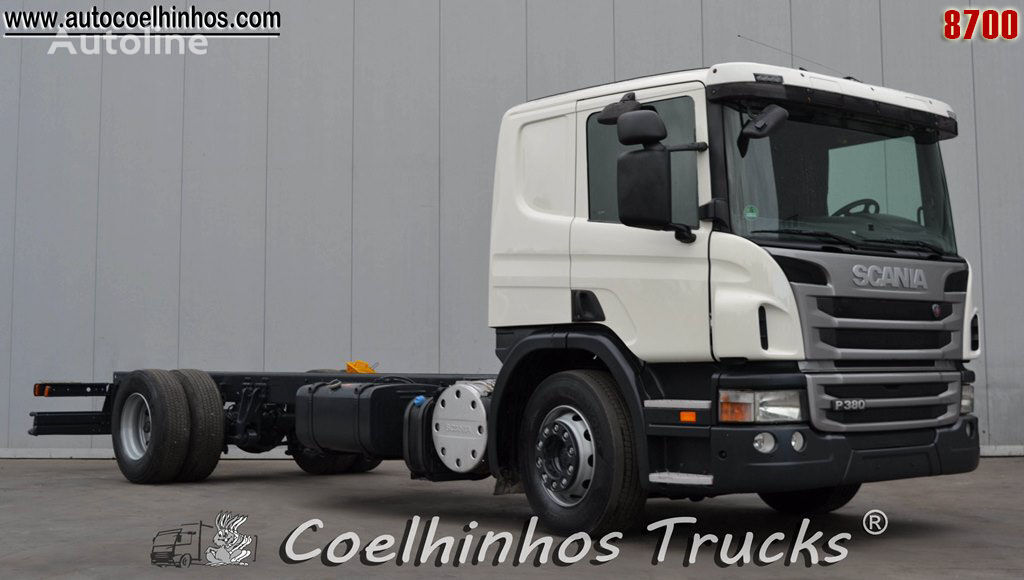 SCANIA P 380 chassis truck