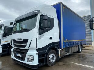 IVECO STRALIS 190S46 curtainsider truck
