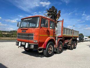 FIAT IVECO 691 N ribaltabile gru dump truck