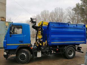 new MAZ авто с КМУ, борт, самосвал dump truck
