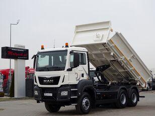 MAN TGS 33.360  dump truck