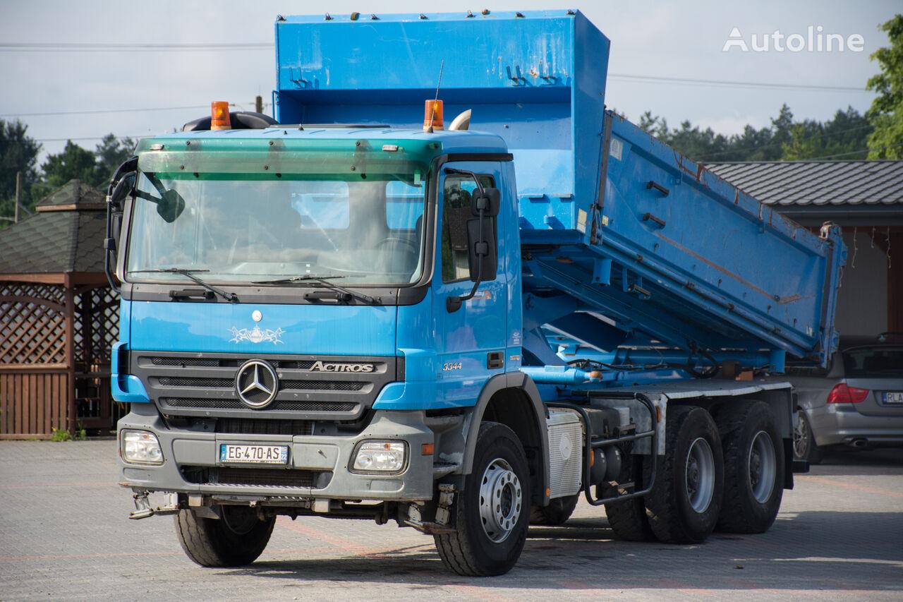 MERCEDES-BENZ Actros 3344 / Retarder / EPS / Ori Paint / Perfect condition ! dump truck