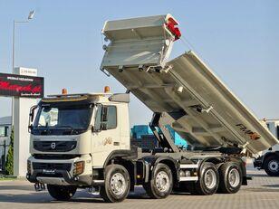 VOLVO FMX 450 / 8X4 / 2 SIDED TIPPER / BORTMATIC / LOAD: 17 TONS  EURO dump truck