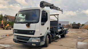 DAF LF 45.180 Crane Remote Controle flatbed truck