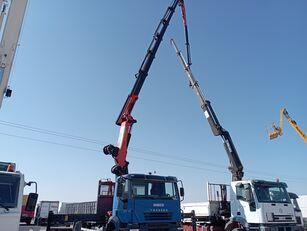 IVECO Trakker flatbed truck