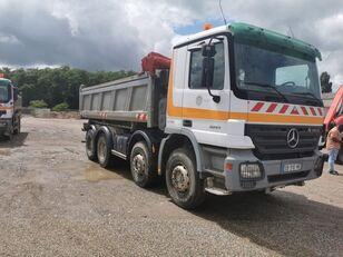 MERCEDES-BENZ 3241 8x4 Bordmatic flatbed truck