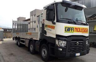 RENAULT C460 flatbed truck