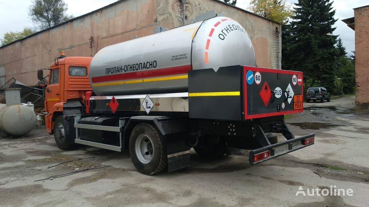 KAMAZ 45253 gas truck