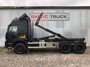 VOLVO FMX 460, 6x6, FULL STEEL, BIG AXLES hook lift truck
