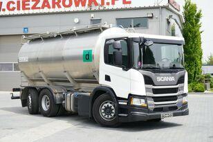 SCANIA P410 6x2 Élelmiszertartályos milk tanker