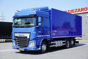 DAF XF 460 SC , E6 , 6X2 , Schmitz 19 EPAL , manual , retarder  refrigerated truck
