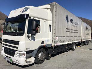 DAF Cf 75 310 tilt truck + tilt trailer