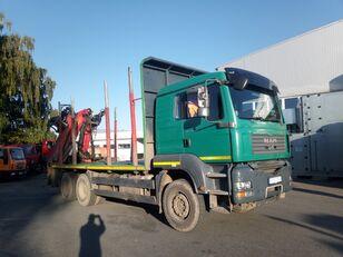 MAN-VW TGA 33.480 timber truck