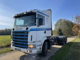 SCANIA 144 460 HP 6x4 Retarder timber truck