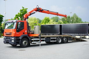 IVECO Stralis 360, EEV, 6x2, 7.8m tow truck, lift axle , CRANE HIAB ma tow truck