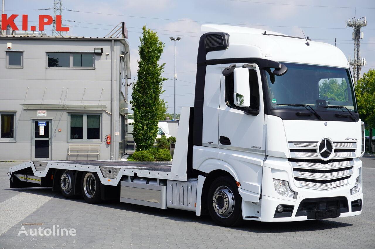 MERCEDES-BENZ Actros 2542 , E6 , MEGA , NEW BODY 8,5m , winch ,remote , retard tow truck